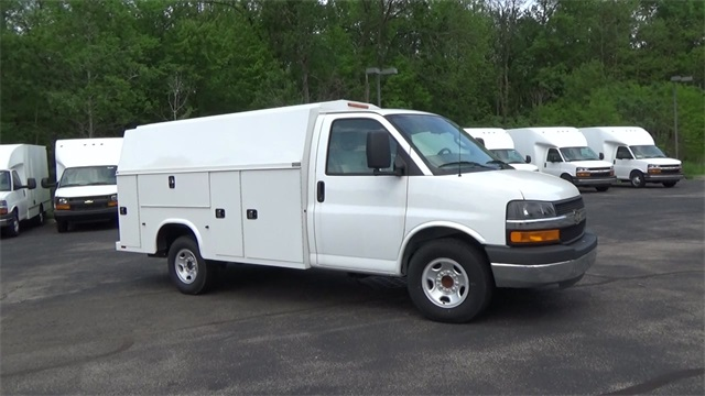 New 2016 Chevrolet Express 3500 T160428 Denooyer Chevrolet